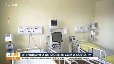 Hospital Abelardo Santos abre novos leitos exclusivos para Covid-19 - Hospital Abelardo Santos abre novos leitos exclusivos para Covid-19