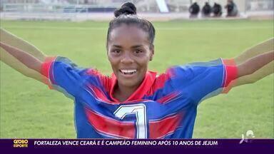 Fortaleza vence Ceará na final e conquista título estadual após 10 anos de jejum - Saiba mais em ge.globo/ce.