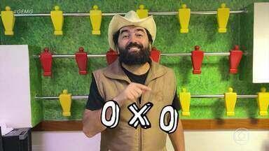IxI ou OxO ? Placar favorece o Cruzeiro, mas o futebol não - IxI ou OxO ? Placar favorece o Cruzeiro, mas o futebol não