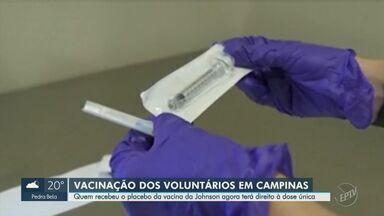Hospital da PUC-Campinas inicia 3ª fase de aplicação da vacina da Johnson & Johnson - Ao todo, 417 voluntários fizeram parte da pesquisa em Campinas (SP).
