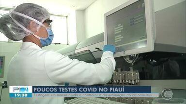 Cai o número de testes para detectar Covid-19 e muitos procuram farmácias - Cai o número de testes para detectar Covid-19