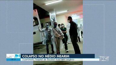 Paciente morre por falta de oxigêncio no Hospital Municipal de Bacabal - 12 pacientes foram levados às pressoas para um hospital em Lago da Pedra.