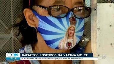 Vacina já traz impactos positivos ao Ceará - Confira mais notícias em g1.globo.com/ce