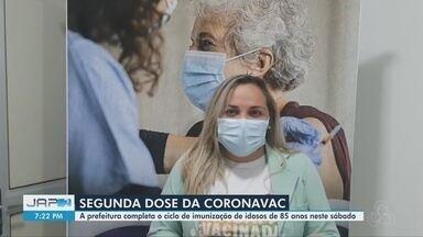 Covid-19: Macapá oferece 2ª dose da vacina para idosos com 85 anos ou mais neste sábado - Covid-19: Macapá oferece 2ª dose da vacina para idosos com 85 anos ou mais neste sábado