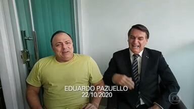 A demissão de Eduardo Pazuello acontece no pior momento da pandemia e por pressão de aliados políticos - Os ministros anteriores saíram por discordar da política de Bolsonaro para enfrentamento do coronavírus.