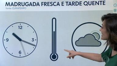 Quinta-feira será de calor e sem chuva no Rio - A diferença de temperatura entre o início do dia a e madrugada já é um sinal de que o outono está chegando.
