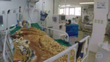 Ocupação das UTIs em Campo Grande passa de 100% - Pacientes estão sendo intubados em leitos de enfermaria