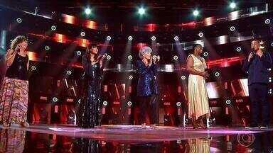 Programa de 21/03/2021 - Último dia de Top dos Tops fecha time de semifinalistas no The Voice+