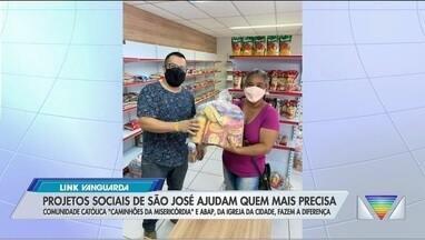 Projetos sociais de São José ajudam quem mais precisa na pandemia - Confira as iniciativas.