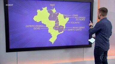 Oito estaduais estão paralisados por causa da pandemia - Ontem, o Brasil registrou um novo recorde de mortes pela Covid-19 em 24 horas: 3.158 pessoas perderam a vida por causa da doença. No pior momento da pandemia, oito campeonatos estaduais foram totalmente suspensos.