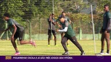 Figueirense está há três jogos sem vencer - Figueirense está há três jogos sem vencer