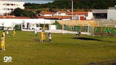 Gol do Fluminense-PI! Eduardo desloca goleiro do Picos e converte pênalti; veja - Gol do Fluminense-PI! Eduardo desloca goleiro do Picos e converte pênalti; veja