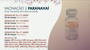Secretarias de Saúde divulgam novo calendário de imunização contra a Covid - Veja como estão os cronogramas em Paranavaí, Umuarama e Cianorte.