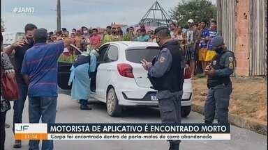 Motorista de aplicativo é encontrado morto em Manaus - Corpo foi encontrado dentro de porta-malas de carro abandonado.