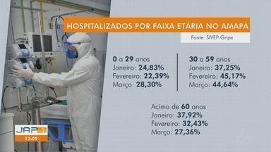 Internações por Covid-19 na rede pública reduz entre idosos e dispara entre jovens - Em um mês, alta foi de 6 pontos percentuais na faixa-etária mais jovem. Em março, eles já ocupam 28,3% das internações.