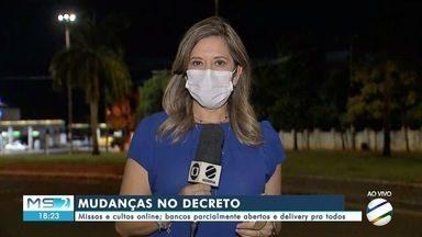Edição extra do Diário Oficial traz para Campo Grande medidas mais restritivas - MS2