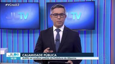 Prefeitura de Altamira pede que seja decretada situação de calamidade pública na cidade - Pedido será analisado pela Alepa.