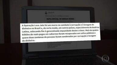 Ex-presidente Lula diz que decisão sobre parcialidade de Moro revigora Estado de Direito - Sergio Moro também divulga nota em que afirma que todos os acusados, inclusive Lula, foram tratados, no processo, com o devido respeito e imparcialidade.