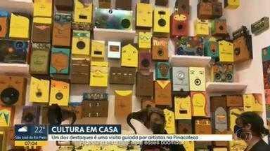 Museus têm programação cultural pra curtir de casa - Pinacoteca e Museu da Língua Portuguesa são alguns dos destaques.