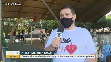 Cufa realiza campanha 'Sangue Bom' - Veja quando e onde doar sangue, que está em falta.