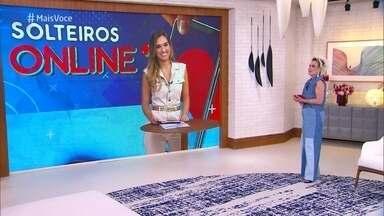 Programa de 02/04/2021 - Talitha Morete apresenta o quadro 'Solteiros Online+' para tentar unir um casal com mais de 60 anos. Paulo conhece as candidatas e escolhe sua pretendente! Confira