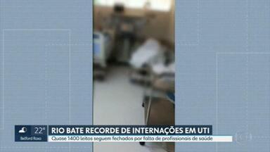 Governo do Estado não cumpre promessa de abertura de leitos de hospitais federais - No dia 25 de março, depois de se reunir com o Ministro da Saúde, Cláudio Castro disse que iria abrir 940 vagas no Rio.