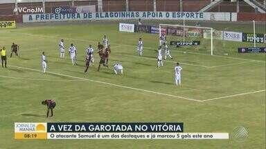 Vitória enfrenta o Rio Branco-ES pela segunda rodada da Copa do Brasil - Jogo acontece na quarta-feira (07), no estádio do Barradão.