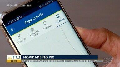 Pix tem nova função que sincroniza agenda de contatos com número para transação - Pix tem nova função que sincroniza agenda de contatos com número para transação