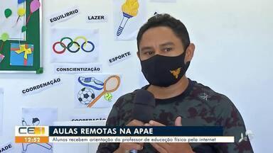 APAE do Crato oferece atividades remotas - Saiba mais em g1.com.br/ce