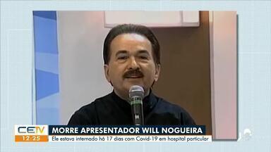 Radialista Will Nogueira morre por complicações da covid-19 - Saiba mais em g1.com.br/ce