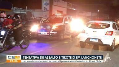 Homem é morto durante tentativa de assalto no Jóquei Clube, em Fortaleza - Saiba mais em g1.com.br/ce