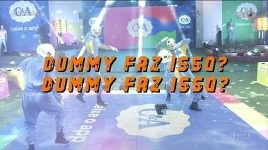 BBB21: 'O Brasil tá vendo' destaca dança dos dummies e 'acidente' no macarrão de Fiuk - BBB21: 'O Brasil tá vendo' destaca dança dos dummies e 'acidente' no macarrão de Fiuk