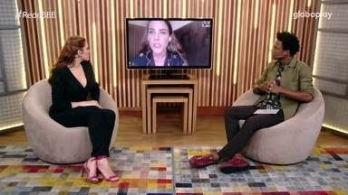 No Bate-Papo BBB, Wanessa opina se Viih Tube for para o Paredão: 'Bate e sai' - No Bate-Papo BBB, Wanessa opina sobre o que pode acontecer se Viih Tube for para o Paredão: 'Bate e sai'