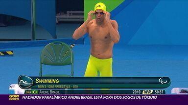 Nadador paralímpico Andre Brasil está fora dos Jogos de Tóquio - Nadador paralímpico Andre Brasil está fora dos Jogos de Tóquio
