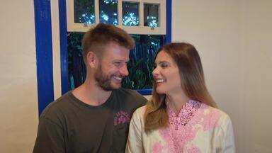 Fernanda Lima e Rodrigo Hilbert revelam 'quem é quem' do casal - O vídeo, feito especialmente para o 'Conversa com Bial', prepara o papo desta quarta-feira, 7/4