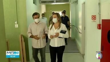 Representantes da Secretaria Estadual de Saúde visitam Governador Valadares - Uma entrevista coletiva foi realizada nesta quarta-feira (7).