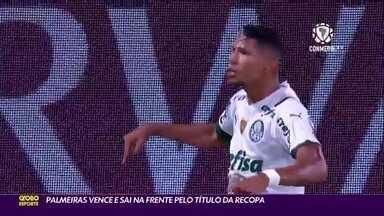 Palmeiras vence Defensa Y Justicia e sai na frente pelo título da Recopa - Palmeiras vence Defensa Y Justicia e sai na frente pelo título da Recopa