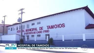 Hospital de Tamoios, em Cabo Frioi, RJ, deve reabrir com 20 leitos para pacientes Covid - Unidade está fechada desde novembro do ano passado e está passando pelos últimos reparos para reabrir.