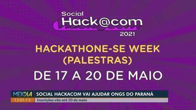 Social Hackacom vai ajudar Ongs do Paraná - Inscrições vão até 20 de maio.