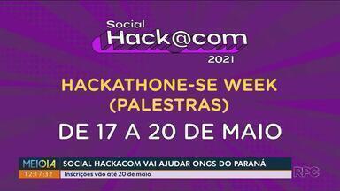 Maratona com experts em tecnologia vai ajudar Ongs no Paraná - Inscrições para o social hackacom vão até 20 de maio.
