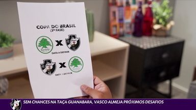Sem chances na Taça Guanabara, Vasco almeja próximos desafios - Sem chances na Taça Guanabara, Vasco almeja próximos desafios