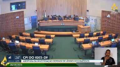 Pedido de abertura da CPI do IGES-DF é lido no plenário da CLDF - A instalação ainda depende de um acordo entre líderes de partidos, para passar na frente de outros requerimentos de CPIs.