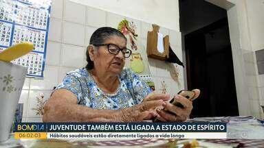 Paraná é o quarto estado com a maior expectativa de vida no Brasil - Para completar tantas décadas de vida, idosos contam os segredos de uma rotina saudável para uma vida longa.
