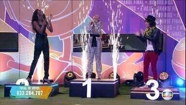 Programa exibido em 04/05/2021 - Juliette é a campeã do BBB21 com 90,15% dos votos e ganha prêmio de R$1,5 milhão.