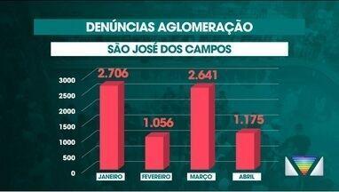 Aglomerações preocupam prefeituras de cidades do Vale - São José tem mais de 7 mil denúncias de festas clandestinas em 2021