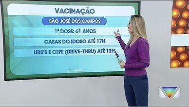 Vacinação contra Covid em São José, Jacareí e Guaratinguetá - Veja como será imunização nessas cidades