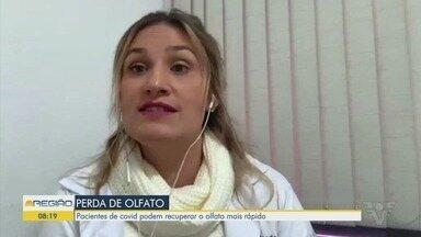 Pacientes de Covid-19 podem recuperar o olfato mais rápido - Aromaterapeuta Natália Lima falou sobre o assunto.