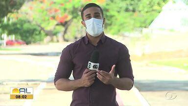 Murici enfrenta o ASA no Estádio José Gomes da Costa - Repórter Ricardo Amaral tem as informações.