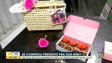 Veja dicas de presente para o Dia das Mães - Saiba mais em: g1.com.br/ce