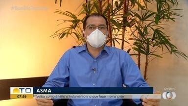 Médico responde dúvidas sobre o que fazer durante uma crises asmática - Médico responde dúvidas sobre o que fazer durante uma crises asmática